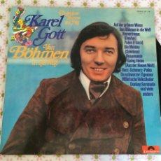 Discos de vinilo: LP KAREL GOTT-VON BOHMEN... Lote 114699067