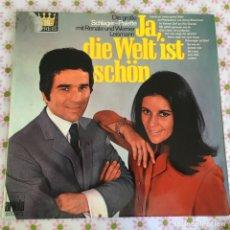 Discos de vinilo: LP DOBLE JA DIE WELT IST SCHON-DIE GROBE.... Lote 114699183