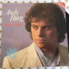 Discos de vinilo: LP ANDY BORG-ADIOS AMOR. Lote 114699491