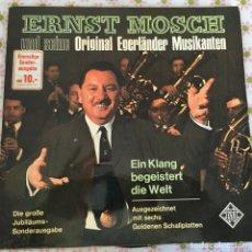 Discos de vinilo: LP ERNST MOSCH-ORIGINAL EGERLANDER... Lote 114699735