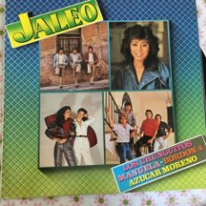 Discos de vinilo: LP JALEO-VARIOS. Lote 114701531