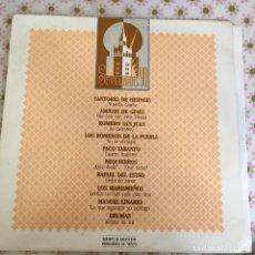Discos de vinilo: LP SEVILLANAS 90-VARIOS. Lote 114701939