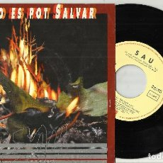 Discos de vinilo: SAU SINGLE PROMOCIONAL AIXO ES POT SALVAR 1992 . Lote 114704995