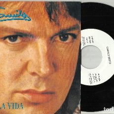 Discos de vinilo: CAMILO SESTO SINGLE PROMOCIONAL QUE MALA VIDA 1992. Lote 114705850