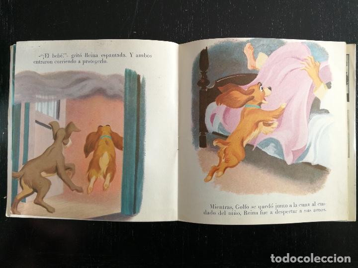 Discos de vinilo: CUENTOS INFANTILES - DISNEYLAND RECORD - LA DAMA Y EL VAGABUNDO - CUENTO Y DISCO INCLUIDO - Foto 2 - 114712323