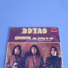 Discos de vinilo: JOYA. SINGLE . GRUPO BOTAS. QUIEREME /LIVING IN SIN( VIVIENDO EN PECADO)POLYDOR 20 62 095.1973.HARD. Lote 114712475