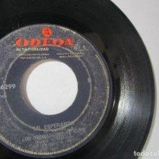 Discos de vinilo: LOS TROVADORES DE CUYO COLOMBIA 45RPM Z4 RARO ESCASO. Lote 114713083