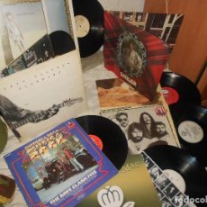 Discos de vinilo: LOTE 6 LP DAVE CLARK ERIC CLAPTON FLETWOOD MAC ROD STEWART WINWOOD DOOBIE BROTHERS..BLUES ROCK. Lote 114719947