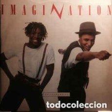 Discos de vinilo: IMAGINATION – INSTINCTUAL - MAXI-SINGLE UK 1987. Lote 114720571