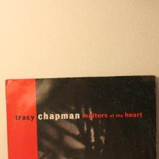 Discos de vinilo: LP TRACY CHAPMAN. MATTERS OF THE HEART. INFORMACIÓN Y 9 FOTOS.. Lote 114724639