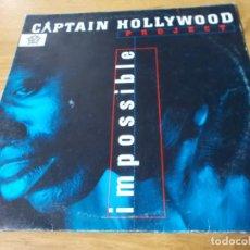 Discos de vinilo: CAPTAIN HOLLYWOOD. PROJECT, IMPOSSIBLE. Lote 278185783