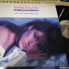 Discos de vinilo: GLORIA ESTEFAN MAXI CAN'T STAY AWAY FROM YOU.ESPAÑA 1988.EN PERFECTO ESTADO /2. Lote 217352317