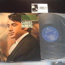 Discos de vinilo: GABRIEL MORENO - FANDANGOS PERSONALES - LP. Lote 114737171