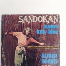 Discos de vinilo: SANDOKAN SWEET LADY BLUE / OLIVER ONIONS ( 1976 RCA ESPAÑA) GUIDO Y MAURIZIO DE ANGELIS . Lote 114738343