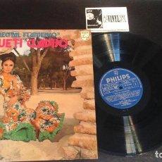 Discos de vinilo: QUETI CLAVIJO (RECITAL FLAMENCO) LP. Lote 114738379