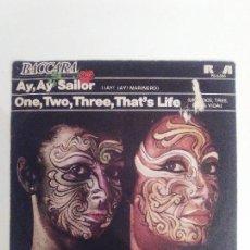 Discos de vinilo: BACCARA AY AY SAILOR / ONE TWO THREE THAT'S LIFE ( 1979 RCA ESPAÑA ). Lote 116388672
