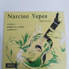 Discos de vinilo: NARCISO YEPES LEYENDA RUMORES DE LA CALETA ALBORADA ( 1969 DECCA ESPAÑA ) ALBENIZ TARREGA. Lote 114740791