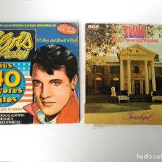 Discos de vinilo: LOTE DE 2 VINILOS ELVIS PRESLEY. Lote 114741091