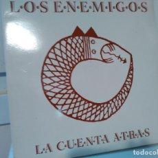 Discos de vinilo: LOS ENEMIGOS. LA CUENTA ATRÁS. - LP DE VINILO 12 33 R.P.M. LOS ENEMIGOS. ROCK ESPAÑOL. Lote 114741219