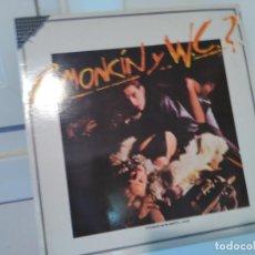 Discos de vinilo: RAMONCIN Y WC, EMI RECORDS, 1986 LP DE RAMONCIN ( ROCK, PUNK ), MADE IN SPAIN, LP. Lote 114741639
