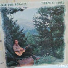 Discos de vinilo: LP - JOSE LUIS PERALES - TIEMPO DE OTOÑO (SPAIN, HISPAVOX 1979). Lote 114742035