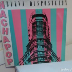Discos de vinilo: NACHA POP,( BUENA DISPOSICION) 1991,LP,SIN ENCARTE INTERIOR. Lote 114742367