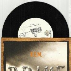 Discos de vinilo: R.E.M. SINGLE DRIVE + WORLD LEADER PRETEND ALEMANIA 1992. Lote 114744523