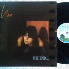 Discos de vinilo: NICO - '' THE END... '' LP ORIGINAL 1ST PRESSING 1974 SPAIN. Lote 114744867