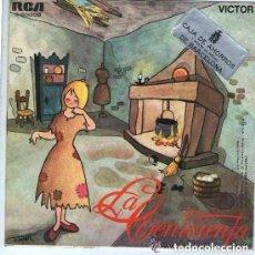 Discos de vinilo: EVANGELINA SALAZAR – LA CENICIENTA - SINGLE RCA SPAIN 1974. Lote 114748043