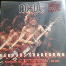 Discos de vinilo: AC DC NERVOUS SHAKEDOWN. Lote 114764248