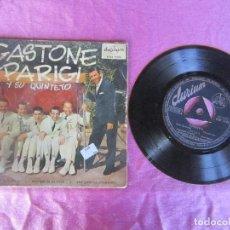 Discos de vinilo: GASTONE PARIGI Y SU QUINTETO. TORERO DIANA ...EP VINILO . Lote 114767627
