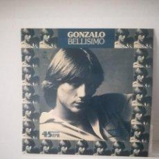Discos de vinilo: GONZALO - SOY BELLÍSIMO - MAXI-SINGLE EPIC -1977 + HOJAS DE PROMOCIÓN INCLUIDOS. Lote 114775391