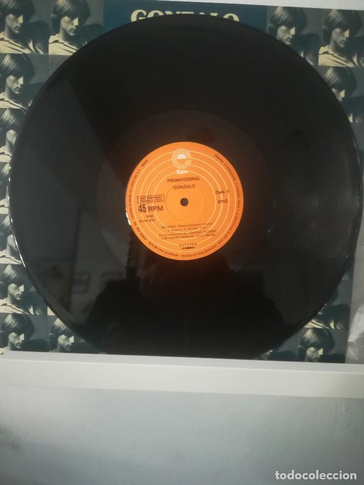Discos de vinilo: GONZALO - SOY BELLÍSIMO - MAXI-SINGLE EPIC -1977 + HOJAS DE PROMOCIÓN INCLUIDOS - Foto 4 - 114775391