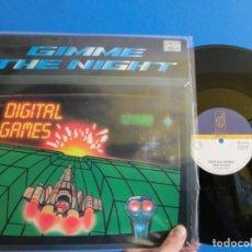 Discos de vinilo: GIMME THE NIGHT, MAXI 1987 ,LOTE 384. Lote 114780219