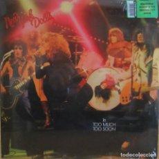 Discos de vinilo: NEW YORK DOLLS: TOO MUCH, TOO SOON (CLÁSICO 2º LP). Lote 114786083