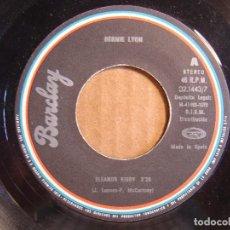 Discos de vinilo: BERNIE LYON - ELEANOR RIGBY + BABILONIA NO ES UN SUEÑO - SINGLE ESPAÑOL 1978 - BARCLAY. Lote 114797103