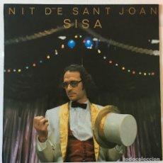Discos de vinilo: SISA NIT DE SANT JOAN PDI  C-30498 LP 1984BSIN REPRODUCIR, COMO NUEVO / COM NOU. Lote 114801611