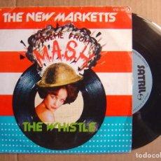 Discos de vinilo: THE NEW MARKETTS - THEME FROM M.A.S.H. + THE WHUSTLE - SINGLE ESPAÑOL 1978 - SATRIL. Lote 114806587