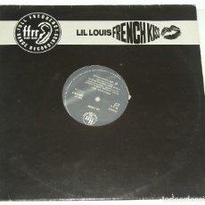 Disques de vinyle: LIL LOUIS - FRENCH KISS - EDICION ESPAÑOLA AÑO 1989. Lote 114809743