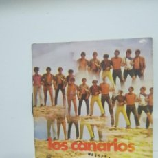 Discos de vinilo: LOS CANARIOS* – PEPPERMINT FRAPPÉ / KEEP ON THE RIGHT SIDE. Lote 114813179