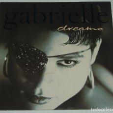 Discos de vinilo: GABRIELLE DREAMS MAXI GERMANY 1993. Lote 114813523