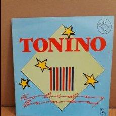 Discos de vinilo: TONINO / HOLIDAY BAMBA / MX-SG / HORUS - 1987 / MBC. ***/***. Lote 114814835
