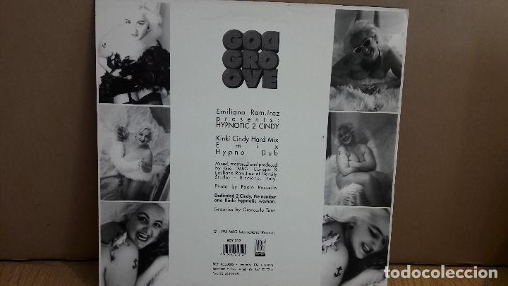 Discos de vinilo: EMILIANO RAM.IREZ / HYPNOTIC 2 CINDY / MX-SG / BOY RECORDS-1995 / MBC. ***/*** - Foto 2 - 114815391