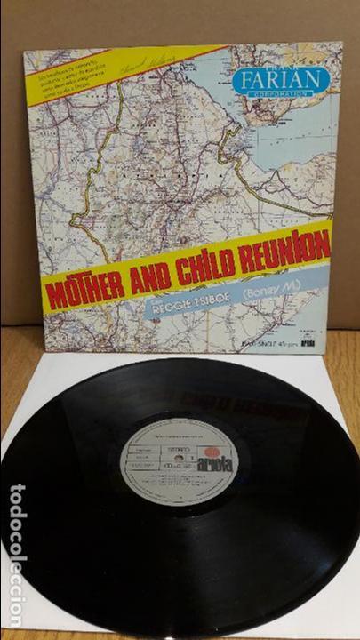 FRANK FARIAN CORPORATION / MOTHER AND CHILD REUNION / MX-SG / ARIOLA / MBC. ***/*** (Música - Discos de Vinilo - Maxi Singles - Pop - Rock - New Wave Extranjero de los 80)