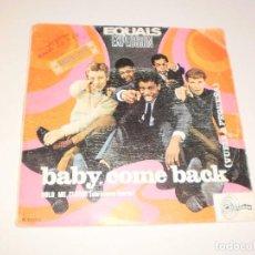 Vinyl-Schallplatten - single equals. baby, come back. hold me closer. sintonia 1967 spain (probado y bien) - 114819727