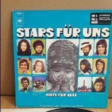 Discos de vinilo: STARS FÜR UNS / HILFE FÜR ALLE / LP / CBS - 1972 / MBC. ***/*** DIFÍCIL.. Lote 114824475