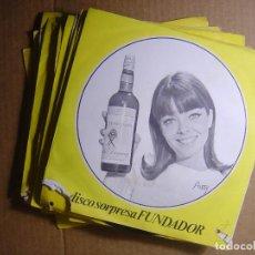 Discos de vinilo: LOTE 18 SINGLES FUNDADOR - TODOS LOS ESTILOS - . Lote 116062319
