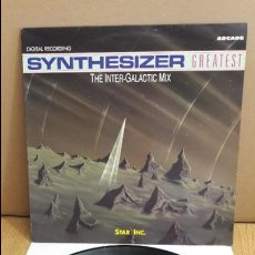Discos de vinilo: SYNTHESIZER GREATEST / THE INTER-GALACTIC MIX / MX-SG / ARCADE / MBC. ***/***. Lote 114825431