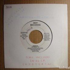 Discos de vinilo: AMNESIA - ITS A DREAM - SINGLE ESPAÑOL PROMOCIONAL 1989 - BOY RECORDS. Lote 114825499