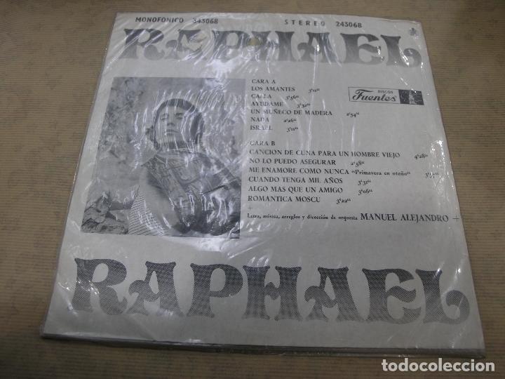 Discos de vinilo: RAPHAEL ALGO MAS DISCOS FUENTES INDUSTRIA COLOMBIANA - Foto 2 - 114835963